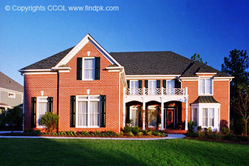 Home front view design 41 for House front view designs pictures