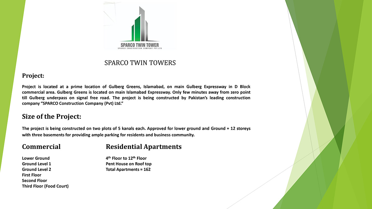 Sparco Twin Tower