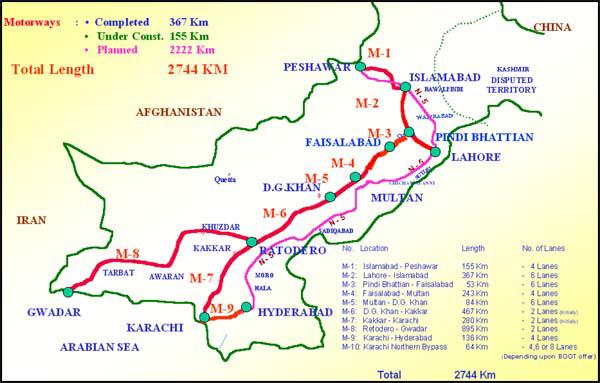 Explore Pakistan Roads In Pakistan