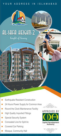 Click for details...Al-Safa Heights, F 11 Islamabad