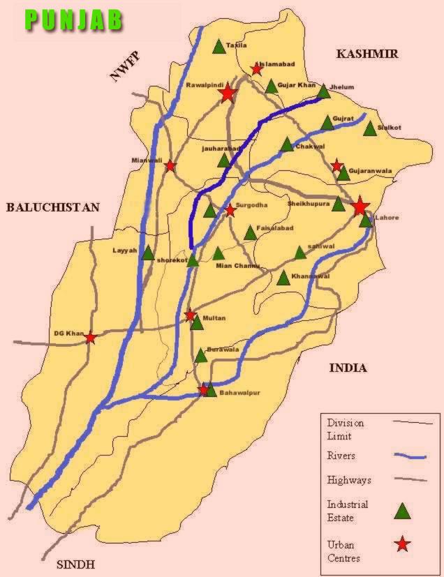 Industrial Zone Punjab, Pakistan
